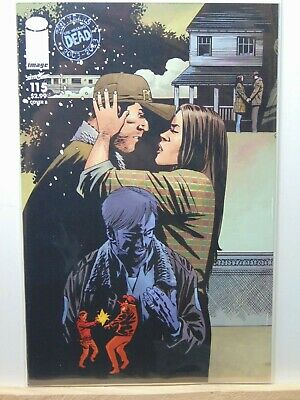 The Walking Dead #115 Variant Cover B Image Comics CB8141