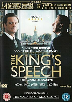 The King's Speech / The Madness of King George  (DVD 2011) )
