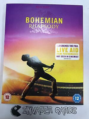 Bohemian Rhapsody 2019 Bluray Plus Queen Live Aid Performance New Boxed Sealed