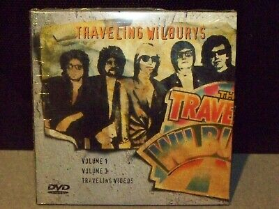 The Traveling Wilburys Vol 1-3 And Traveling Videos Sealed 2Cd 1 Dvd