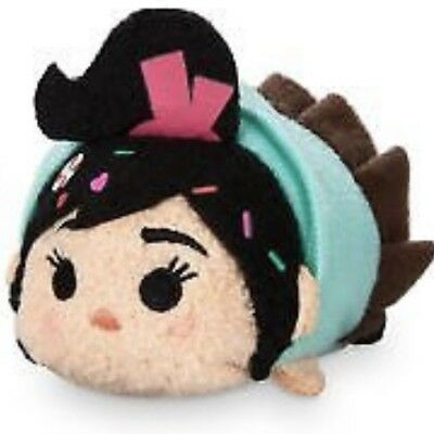 "Disney Store Tsum Tsum Vanellope Mini Plush 3.5"" Ralph Breaks the Internet"