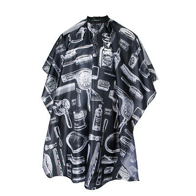 Waterproof Beard Cape Hair Cutting Barber Apron Hairdressing Tools Patterned