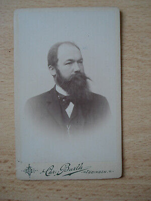 Photo Ancienne Format Carte De Visite Portrait Dhomme 9 Cm X