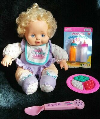 #9808 RARE! Vintage Tyco Magic Feeding Set Baby Doll Bottle EXCELLENT Condition!