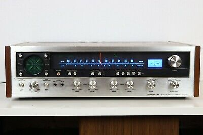 PIONEER 4 CHANNEL RECEIVER MODEL QX-747 from 1974 - WORKING!!