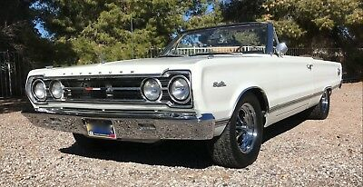 1967 Plymouth Satellite Premium 1967 Plymouth Satellite Convertible 440ci *RARE MOPAR*