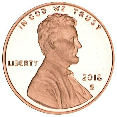2018 S Lincoln Shield Cent Gem Deep Cameo Proof Penny