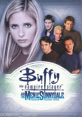 Buffy Men Of Sunnydale Trading Cards Base Set Of Collector Cards
