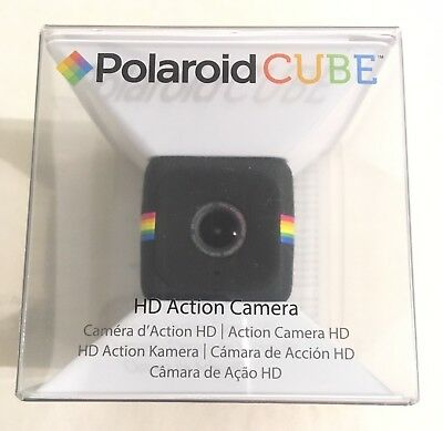 Polaroid Compact Cube HD Action Video Camera DVR Sports Helmet Camcorder 1080p