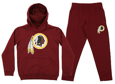 Outerstuff NFL Youth Washington Redskins Team Fleece Hoodie and Pant Set dd319a81f