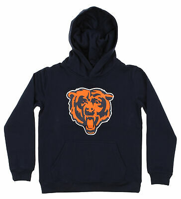 Outerstuff Youth NFL Chicago Bears Lightweight 1//4 Zip Pullover