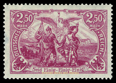 "EBS Germany 1920 ""North and South United"" 2.50 Mark Michel 115 MNH**"