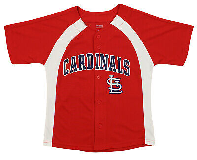 Outerstuff MLB Youth Boys St. Louis Cardinals Blank Baseball Jersey, Red