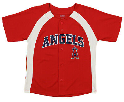 9012cdfb9 Outerstuff MLB Youth Boys Los Angeles Angels Blank Baseball Jersey