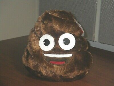 Emoji Brown Poop Plush Bank, 3 Plus Years, BRAND NEW! 💩