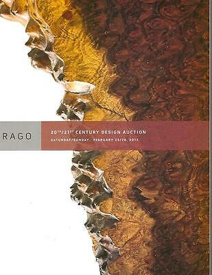 Rago Arts & Crafts Art Nouveau 20th C. Design Deco Auction Catalog 2012