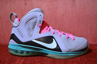 fb7448ac6249 CLEAN Nike Lebron 9 P.S. Elite SOUTH BEACH MIAMI VICE Size 12 516958 001 IX