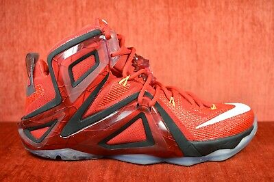 sneakers for cheap 91f27 14e55 CLEAN Nike Lebron XII 12 Elite Team University Red Size 10 724559-618