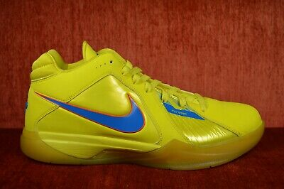 detailed pictures a7cc0 5f81d WORN ONCE PROMO SAMPLE NIKE ZOOM KD 3 III CHRISTMAS Size 11 KD 417279-700