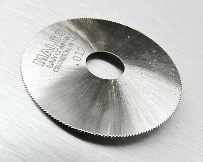"Malco Saw Blade Jewelers Slotting Saws 2"" High Speed Circular Saw Blades 0.012"""