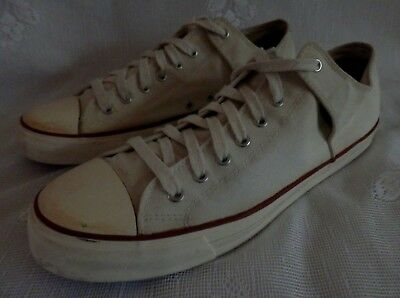 6b3fea191bc9 PF Flyers Bob Cousy All American Natural White Low Sneakers Shoes Men s Size  13