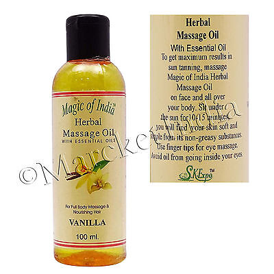Beauty & Gesundheit Magic Of India Krishna Musk Herbal Massage Essential Oil For Full Body 100 Ml Lotionen & Cremes