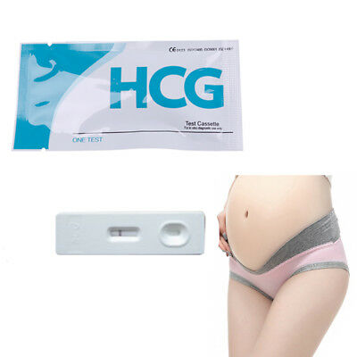 1/3/5Pcs Woman home private early pregnancy urine midstream test strips kit
