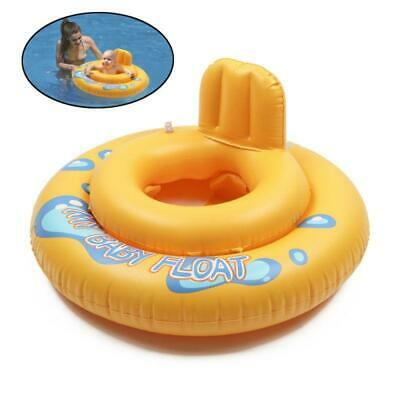 Baby Float Swimming Ring Toddler Infants Inflatable Rubber Ring Boat with Seat