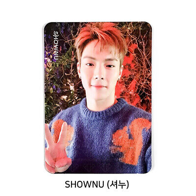 MONSTA X - 2nd Album Take.2 'We Are Here' Official Photo card - SHOWNU #05