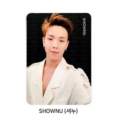 MONSTA X - 2nd Album Take.2 'We Are Here' Official Photo card - SHOWNU #08