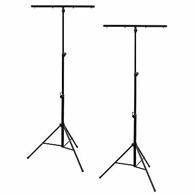 2er Set Lichtstative mit Querstange, 3.2m, je 30kg belastbar - Made in EUROPE!!