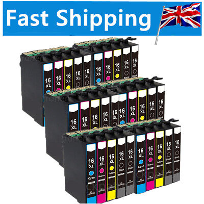 LOT Ink Cartridges for Epson Workforce WF-2520NF WF-2630WF WF-2750DWF WF-2660DWF