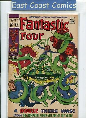Fantastic Four #88 -  (Very Fine Minus 7.5) Silver Age Marvel