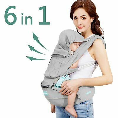 Baby Carrier Holder Bag Backpack Hip Seat Child Toddler Care Lightweight Durable