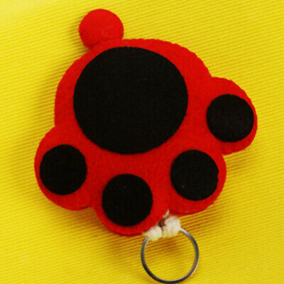 Cat Paw Key Holder Case Sewing Felt Applique Kit For Kids Girls Felt Craft