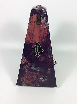 Rare Abstract Vintage Wittner Maelzel Metronome; Made in W. Germany 60-70s