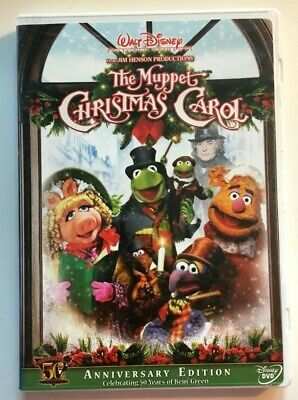 The Muppet Christmas Carol.The Muppet Christmas Carol Dvd Jim Hensen Kermit The Frog 50th Anniversary