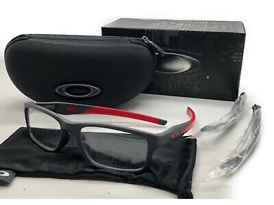 81506fe8bc537 NEW Oakley Crosslink MNP RX Asian Fit Frame Satin Pavement OX8141-0556 56  8141