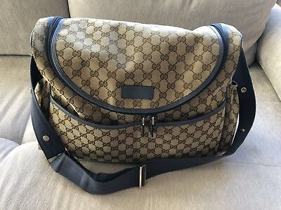 9f1a2b6dc602 GUCCI GG SUPREME Diaper Bag   Baby Carrier -  1
