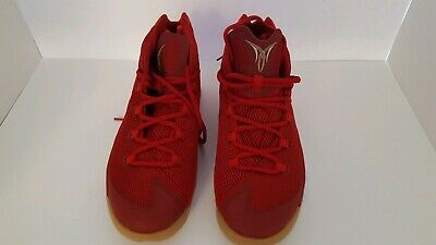 pretty nice 20c99 fa67c Nike Jordan Melo M12, Gym Red Challenge Red  Metallic Gold, 827176 696,