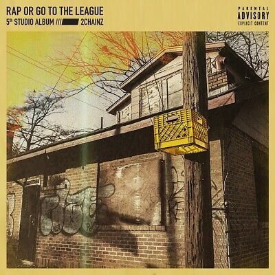 "2 Chainz Rap Or Go To The League Poster Album Cover Art Print 12x12"" - 32x32"""
