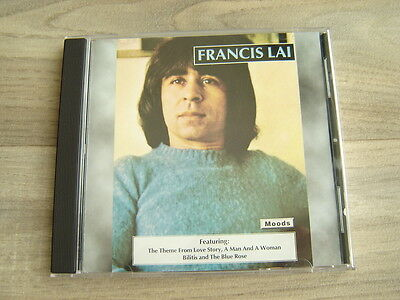 soundtrack CD movie film FRANCIS LAI theme LOVE STORY A MAN AND WOMAN IN TH RAIN