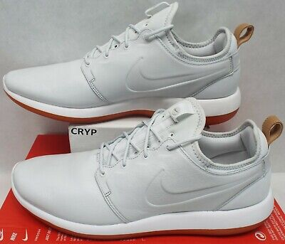 on sale f2974 2e184 New Mens 14 NIKE Roshe Two Leather PRM Off White Running Shoes  130 881987- 100
