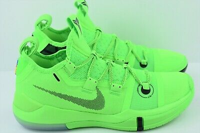 c5dd11fab265 Nike Kobe AD Exodus Mens Size 7 Basketball Shoes Green Strike AR5515 301  Grinch
