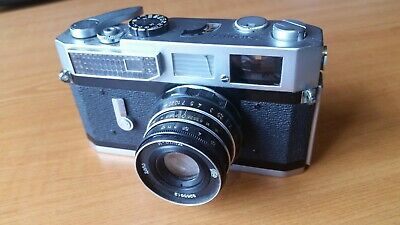 Canon 7 Rangefinder Camera with FREE lens