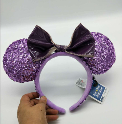 DISNEY PARKS MINNIE Mouse Ear Headband - Crown and Feathers Jubilee ... 30df42942b20
