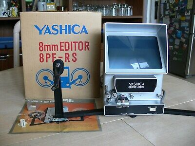 Yashica 8mm Film Editor 8PE-RS - Working With Original Box