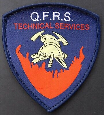 Queensland Fire & Rescue Technical Services patch -Collectors Patch Not Official