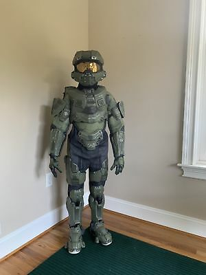 HALO MASTER CHIEF Childs Costume Ultra Prestige Microsoft Costume, Medium  7/8