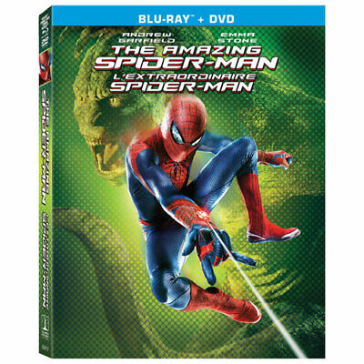 The Amazing Spider-Man (Blu-ray + DVD, 2012, Widescreen) Factory Sealed [New]